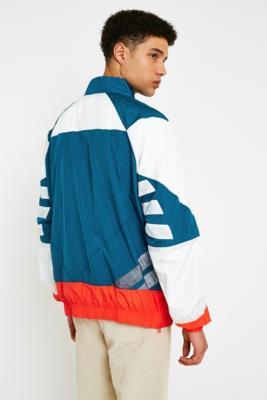adidas v stripes windbreaker jacket