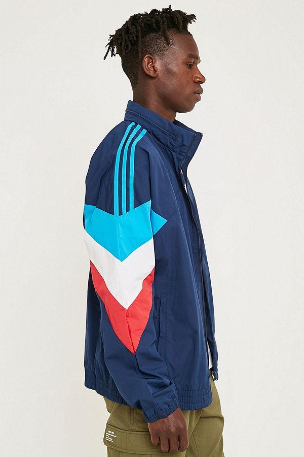 adidas Palmeston Navy Windbreaker Jacket