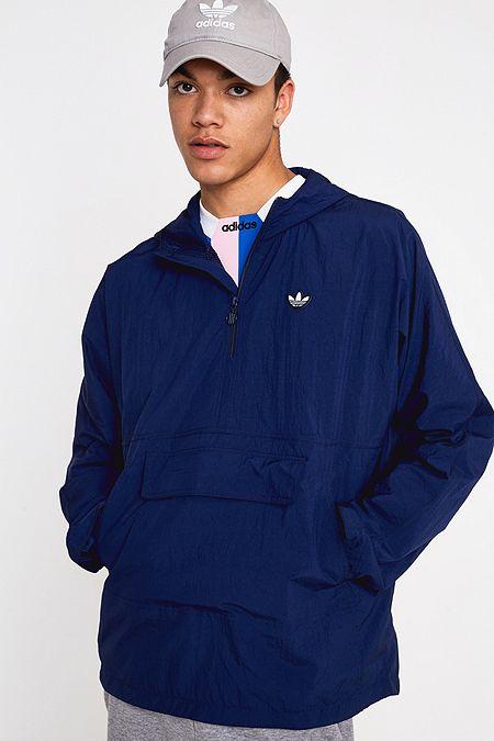4ac304313c4 adidas Indigo Lightweight Popover Jacket