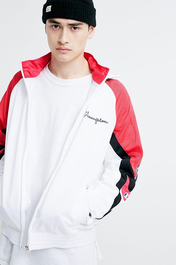 magasin en ligne style attrayant vente discount Champion - Veste zippée blanche, rose et noire