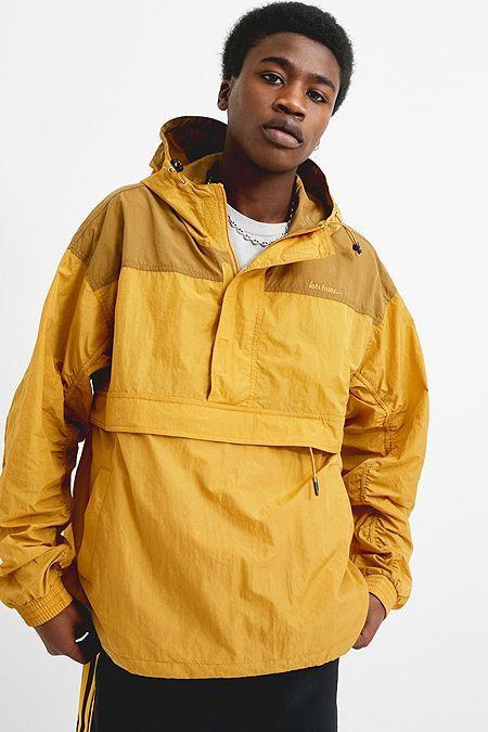 1b847562007 iets frans… Yellow Popover Anorak Jacket