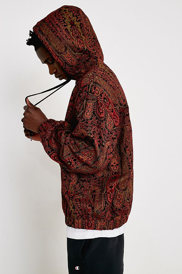 d1955dc4970 UO Paisley Hooded Jacket