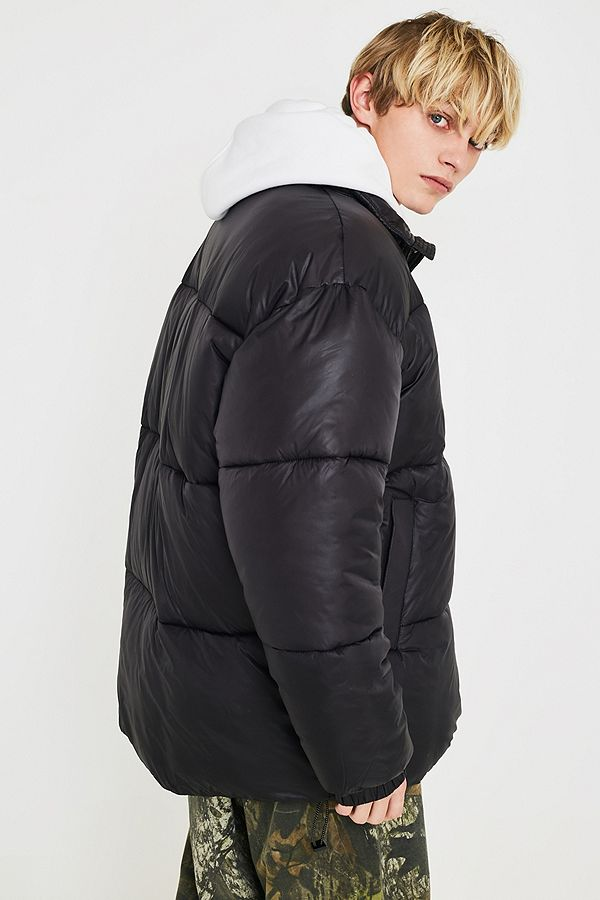 Uo Hi Shine Puffer Jacket by Urban Outfitters