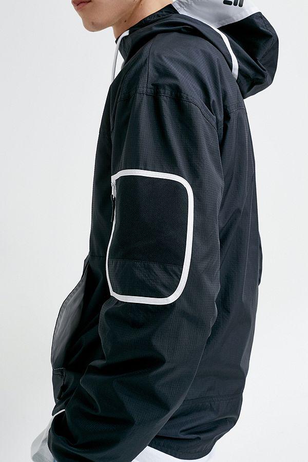 3c90723329b92 Columbia Challenger Washed Black Windbreaker Jacket
