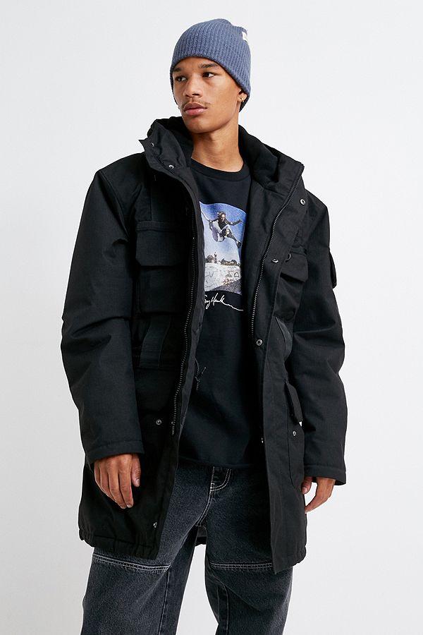 Hi Tec Ranger Black Tactical Coat by Hi Tec