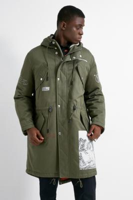 Band Of Outsiders Moss Hooded Parka Jacket by Band Of Outsiders
