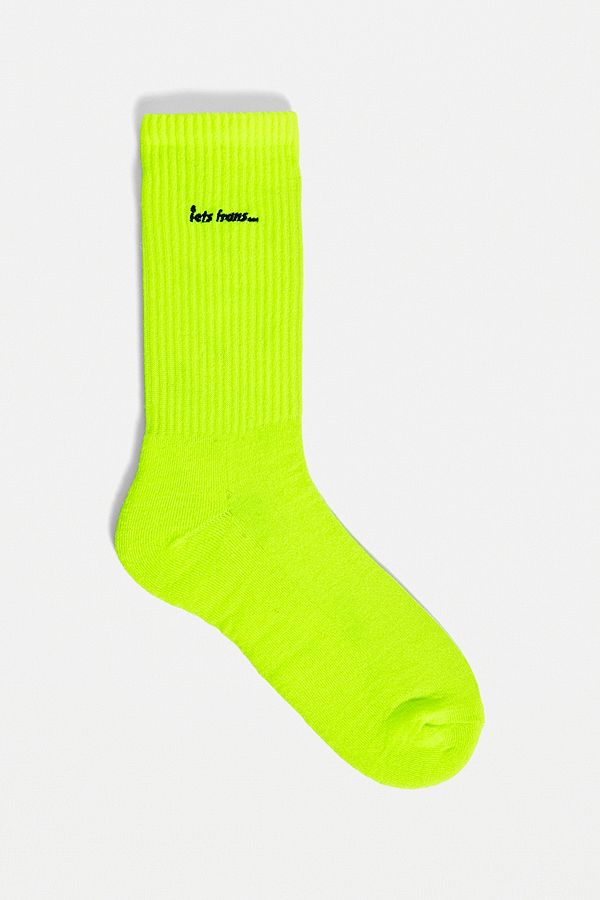 iets-frans…-fluorescent-yellow-socks-1-pack by iets-frans