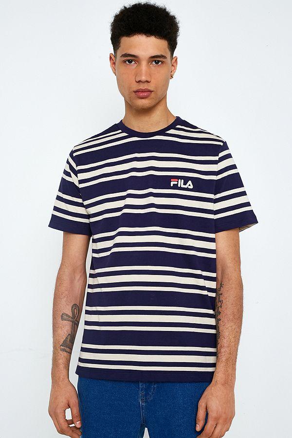 FILA Alexis Stripe T-Shirt