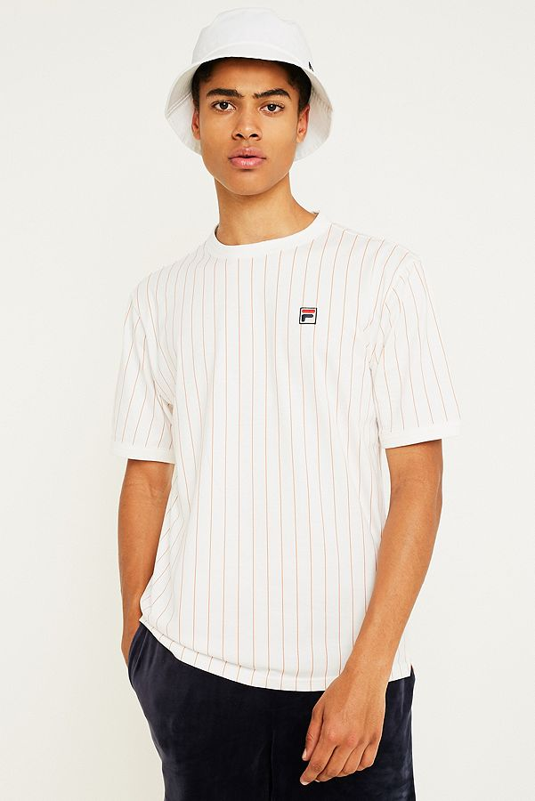 2edadd94 FILA Guilo White Short-Sleeve T-Shirt | Urban Outfitters UK