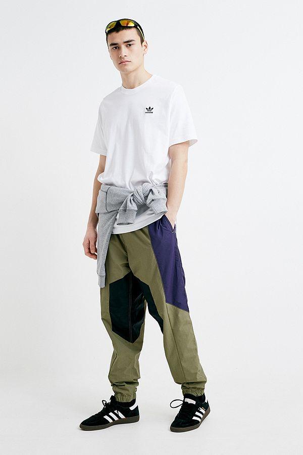 4c759106d80fa Slide View  1  adidas Trefoil Essentials White T-Shirt