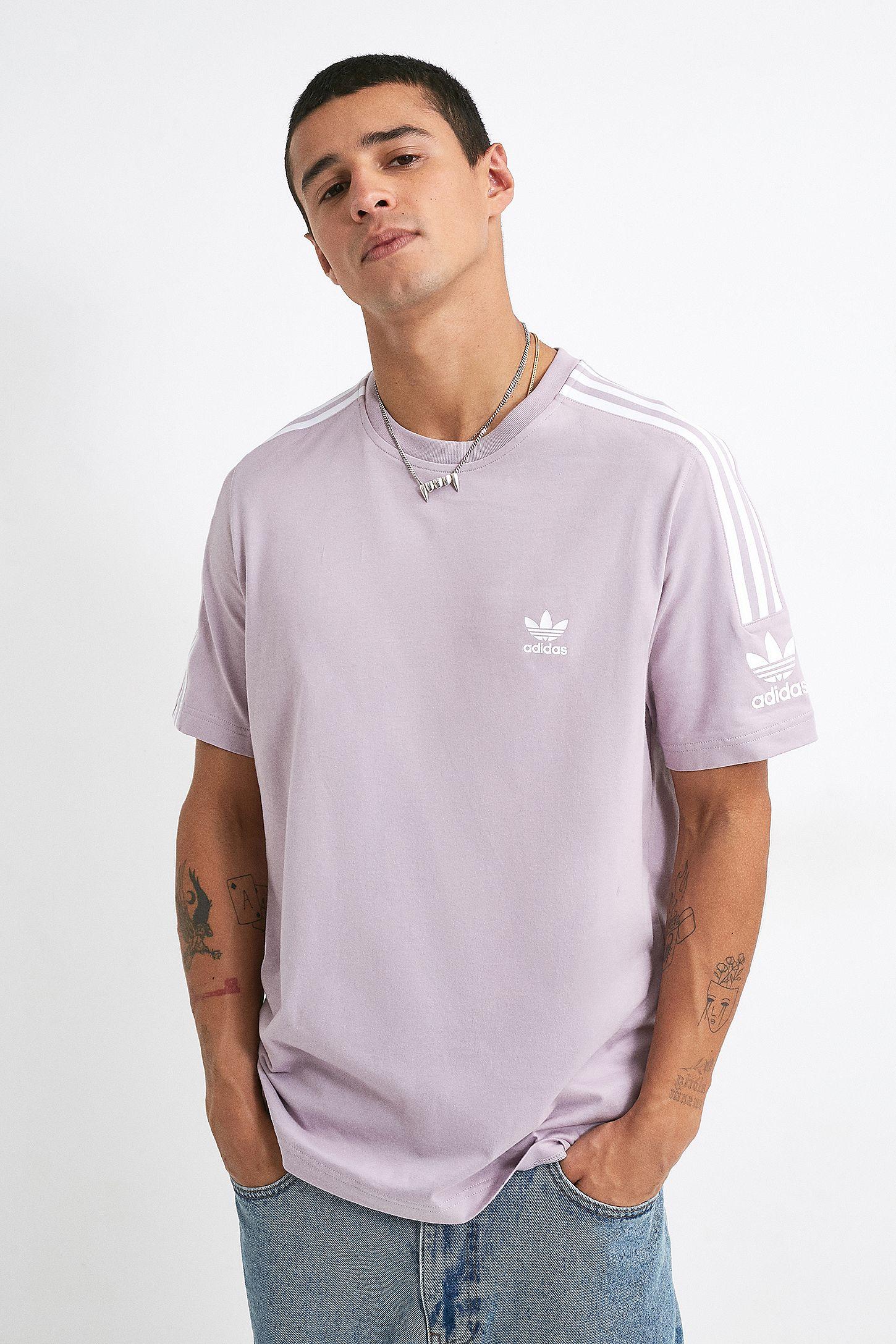 adidas t-shirt 3 stripes soft vision
