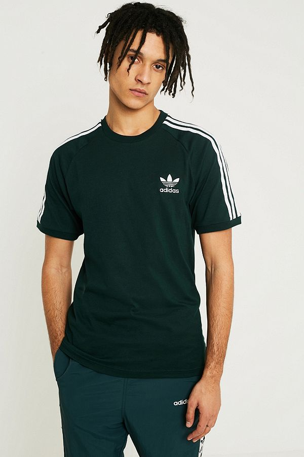 adidas 3 stripe shirt