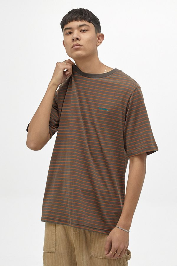UO Brown Striped T Shirt