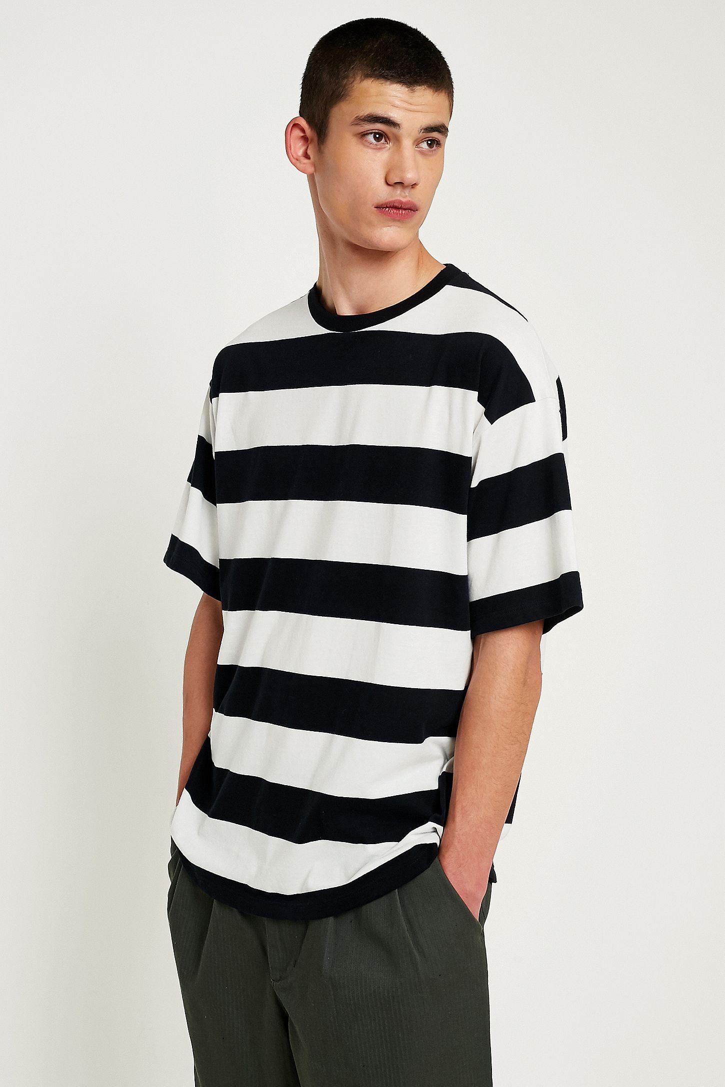 9bcadd93ff1 UO Black and White Striped T-Shirt