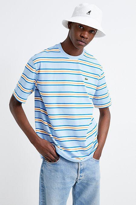 b205d4a158f Lacoste LIVE Blue Striped T-Shirt