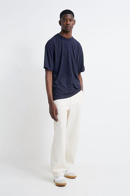 1b231d6d50d6 Calvin Klein Badge Logo Navy Relaxed T-Shirt