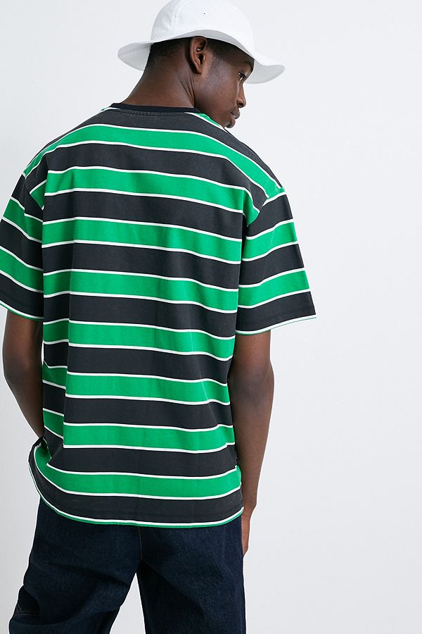 3d74311682 SWEET SKTBS '90s Green and Black Striped Long-Sleeve T-Shirt | Urban ...