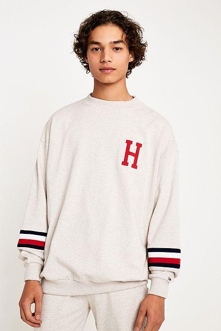 fd841e1f1848 Tommy Hilfiger H Creme Crew Neck Sweatshirt