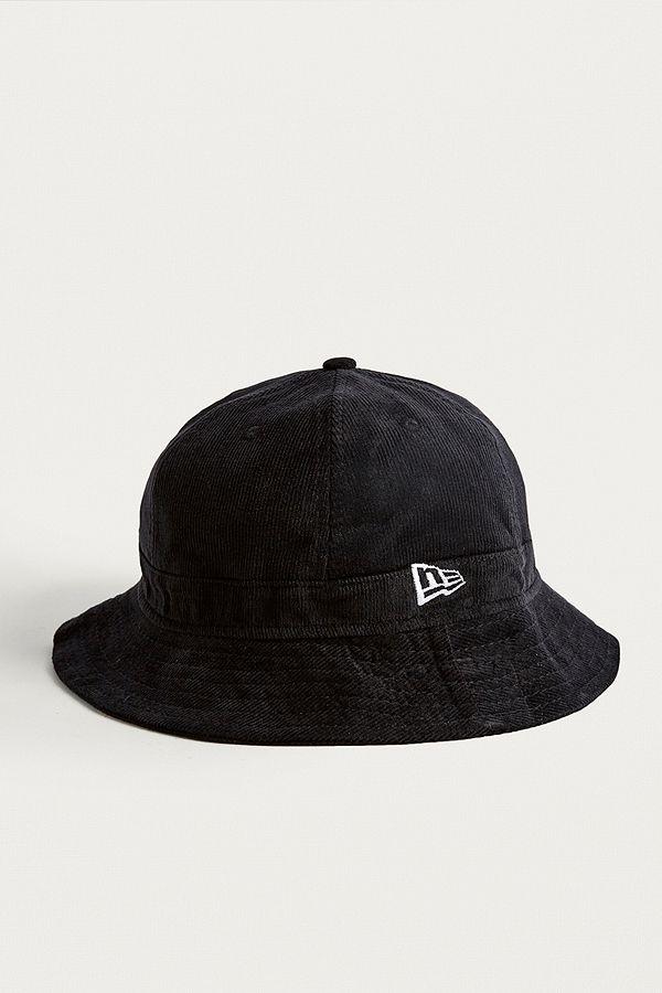 8d619ca4 New Era Corduroy Black Bucket Hat | Urban Outfitters UK