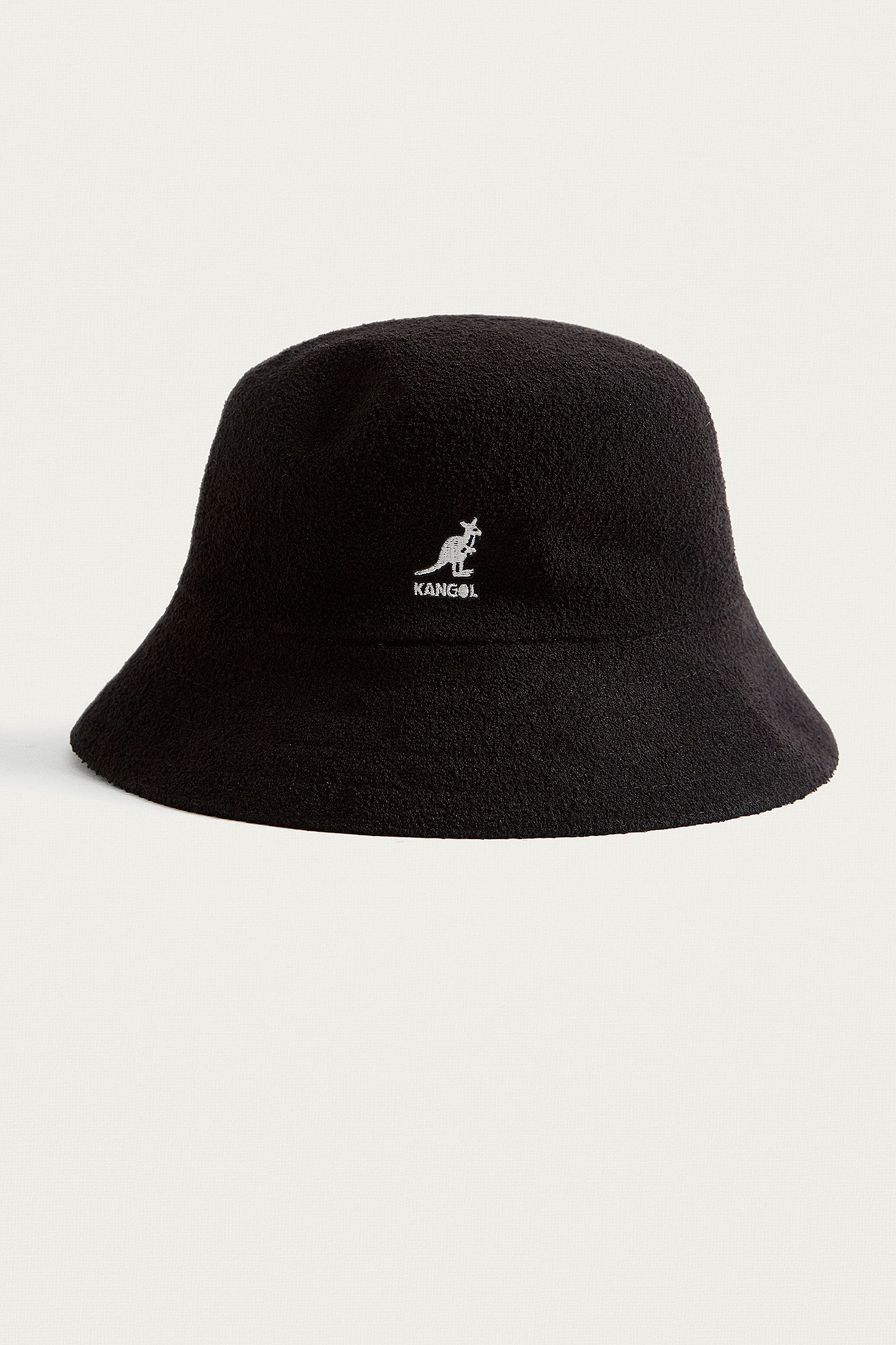 09f529b2814e5 Kangol Bermuda Black Bucket Hat. Click on image to zoom. Hover to zoom.  Double Tap to Zoom