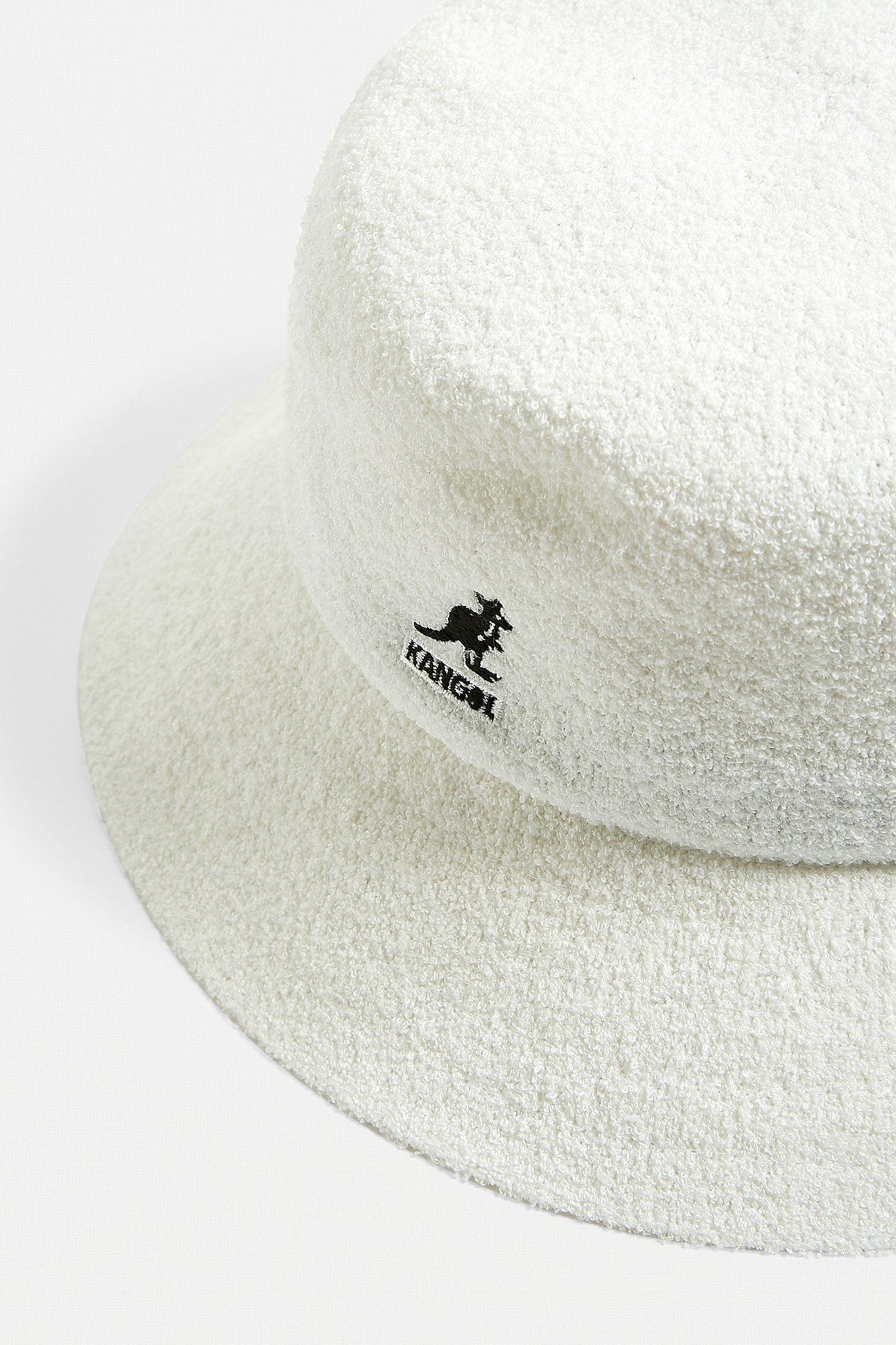 2d1de485cae Slide View  2  Kangol Bermuda White Bucket Hat