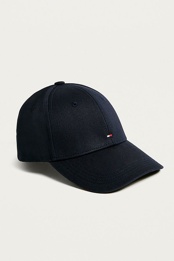2e4db6f404 Tommy Hilfiger Classic Navy Baseball Cap | Urban Outfitters UK