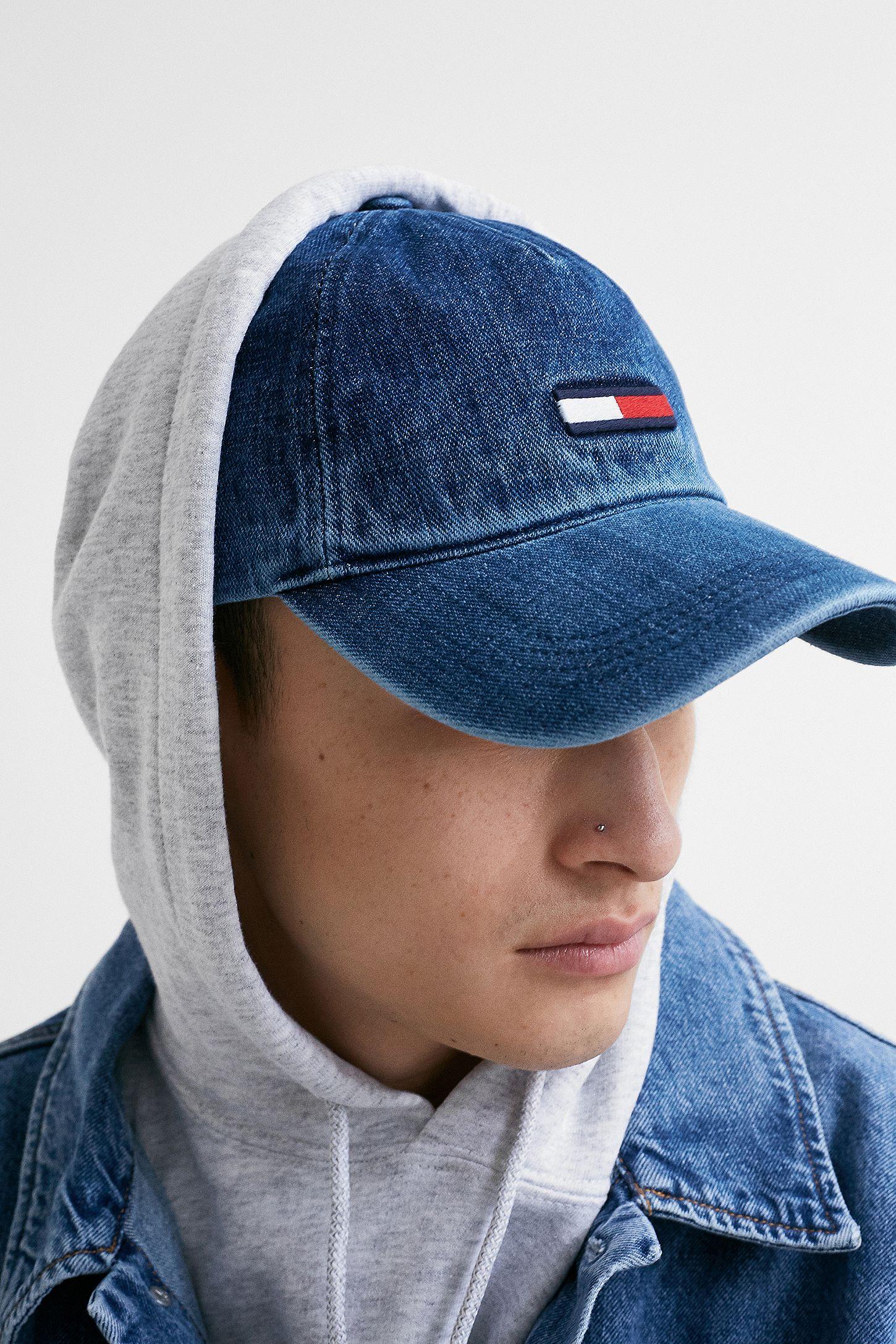 0da69ac88 Tommy Jeans Flag Denim Cap