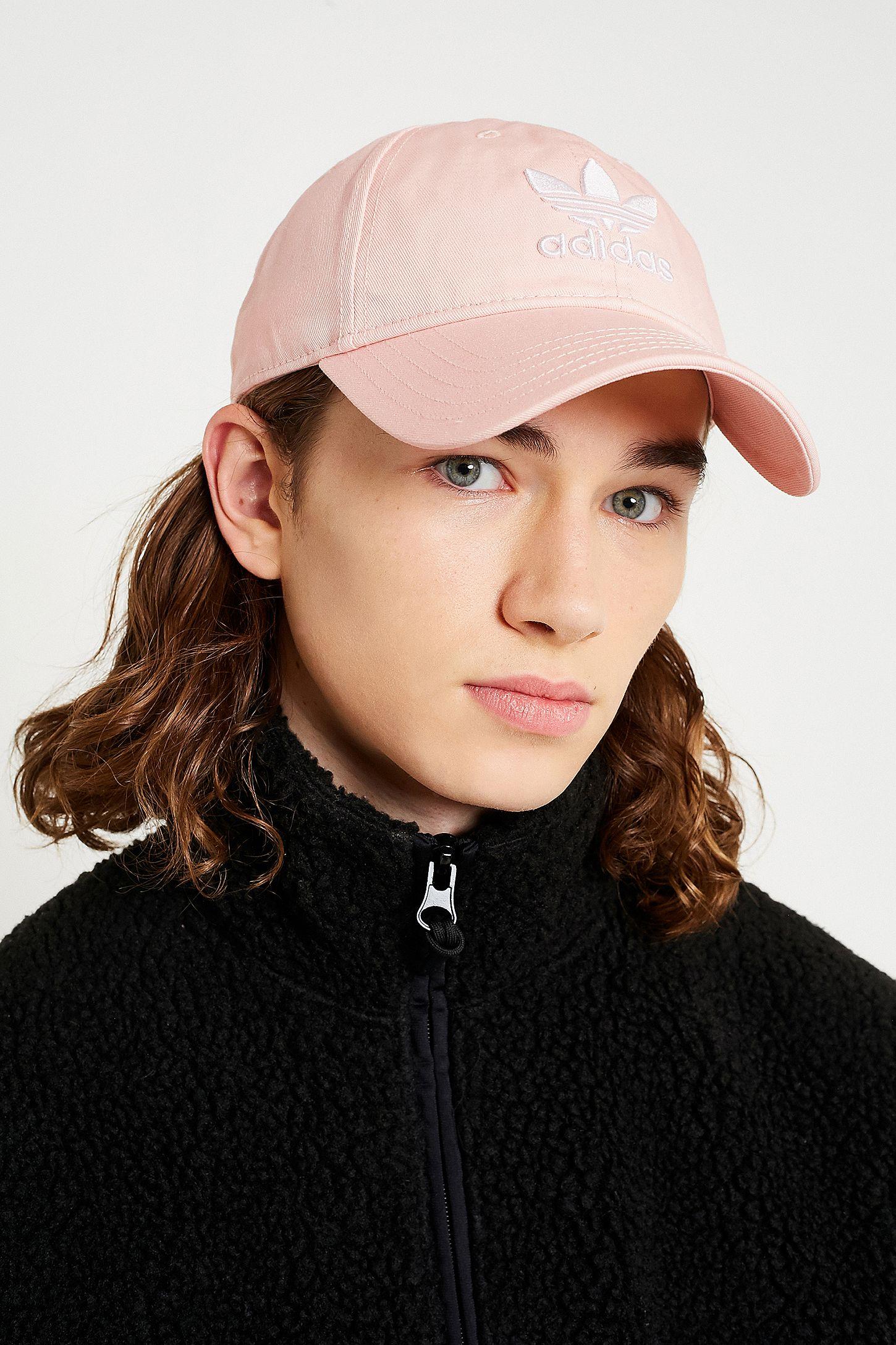 683d8e2f63b adidas Trefoil Pink Dad Cap