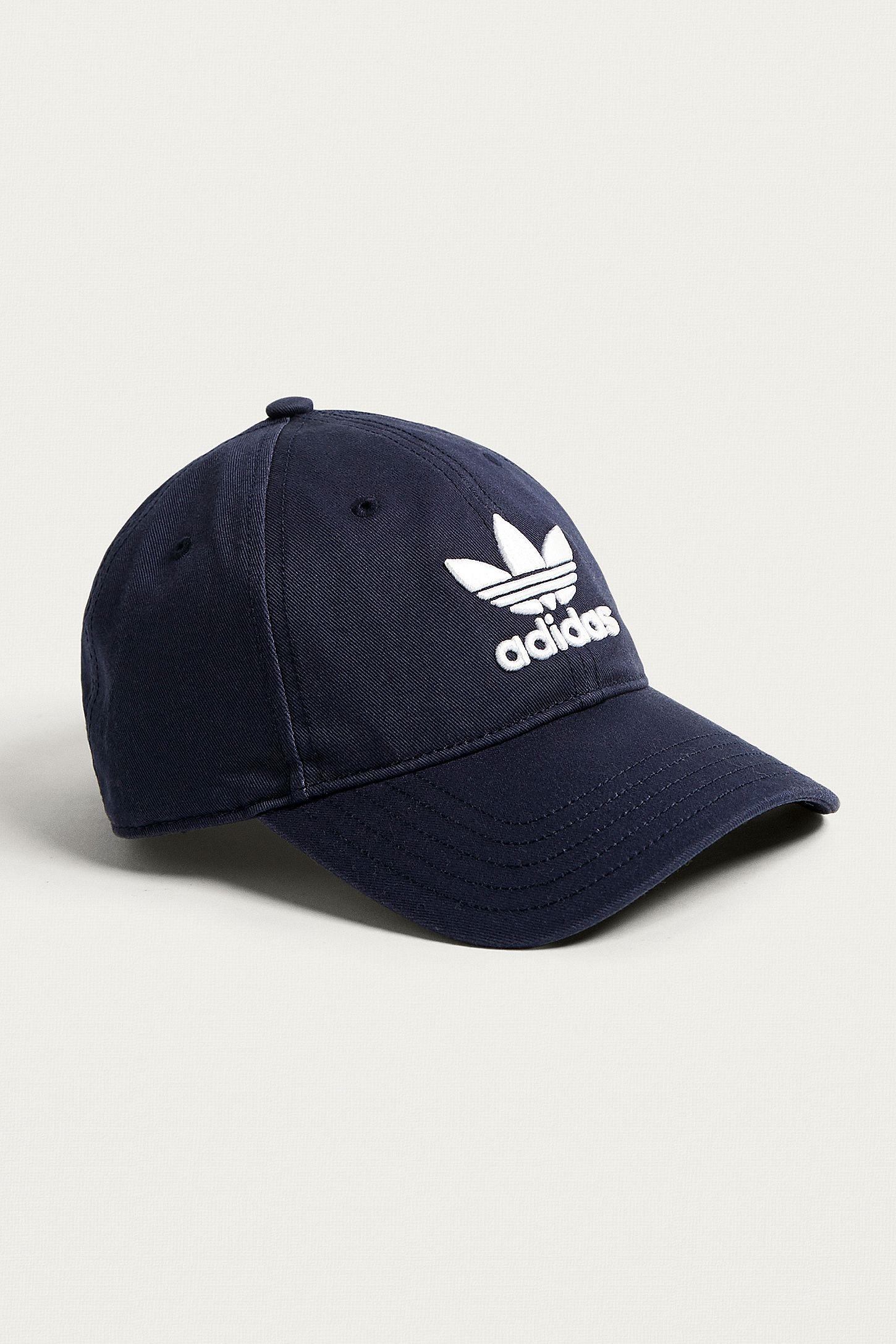 b210270d726 adidas Originals Navy Trefoil Dad Cap