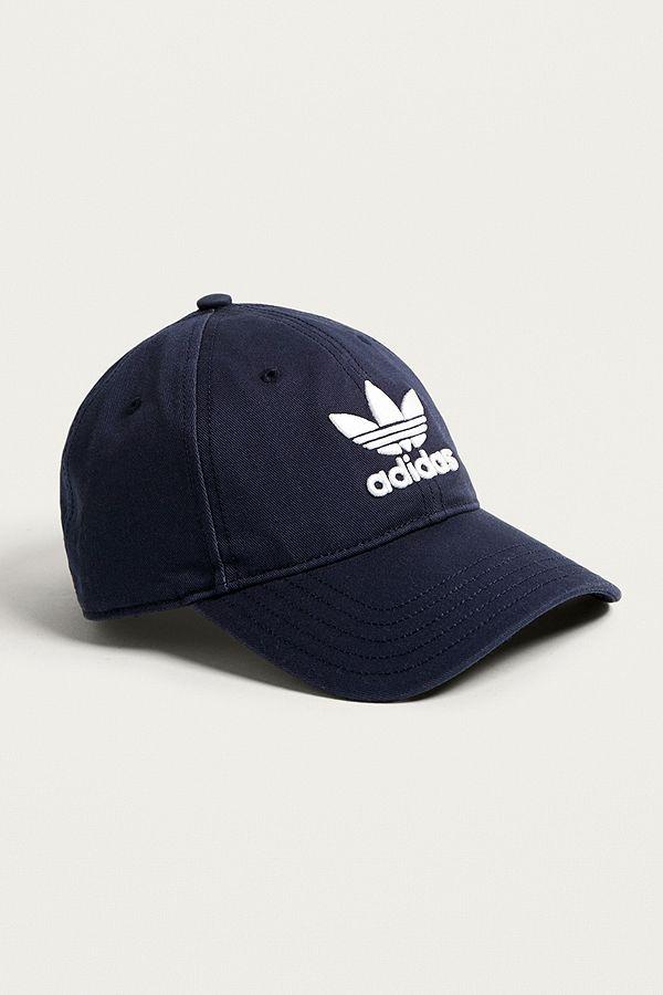 685da3f14a8 adidas Originals Navy Trefoil Dad Cap