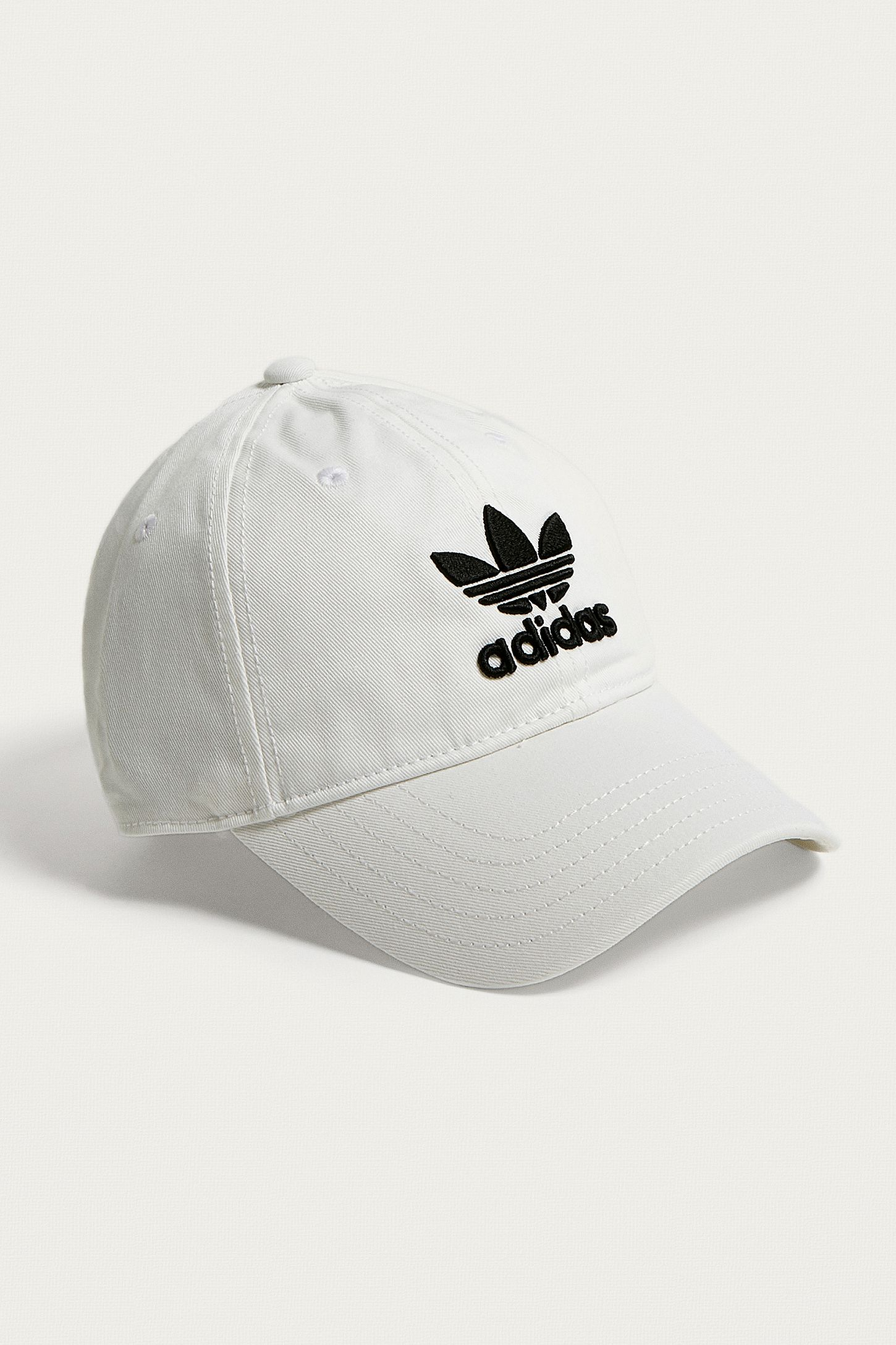 0c31f0268e4 adidas Originals White Trefoil Dad Cap