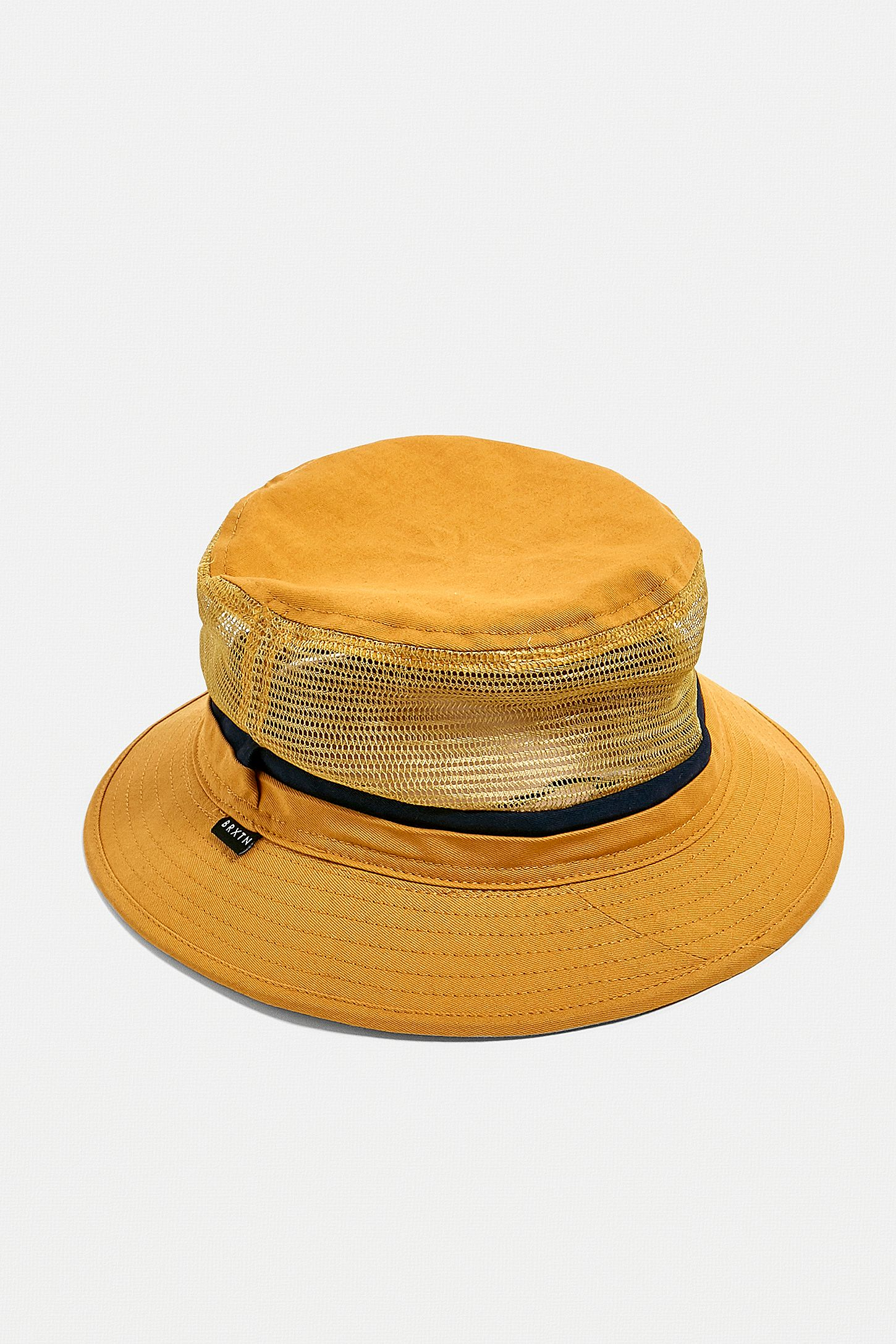 3c3796bf2d242d Brixton Hardy Yellow Bucket Hat | Urban Outfitters UK