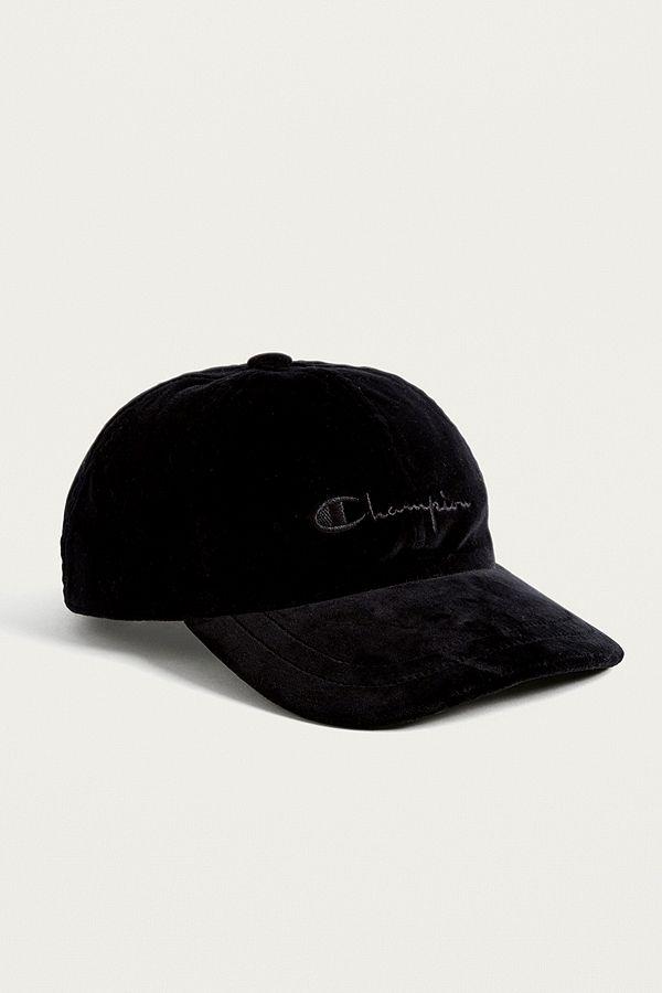 02d8548236f Champion Velvet Black Cap