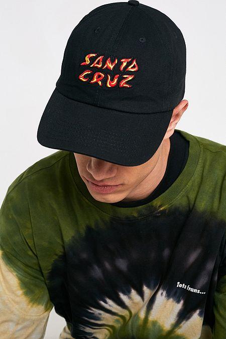 08cfcf46ac060 Santa Cruz Fire Black Cap