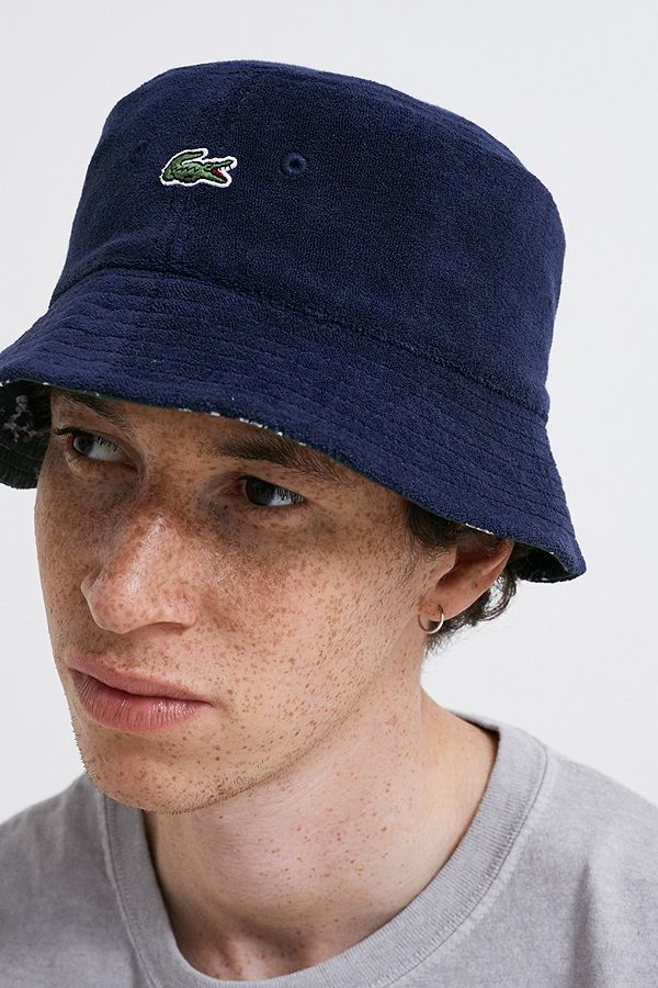 6be90b8c211 Slide View  1  Lacoste Reversible Bucket Hat