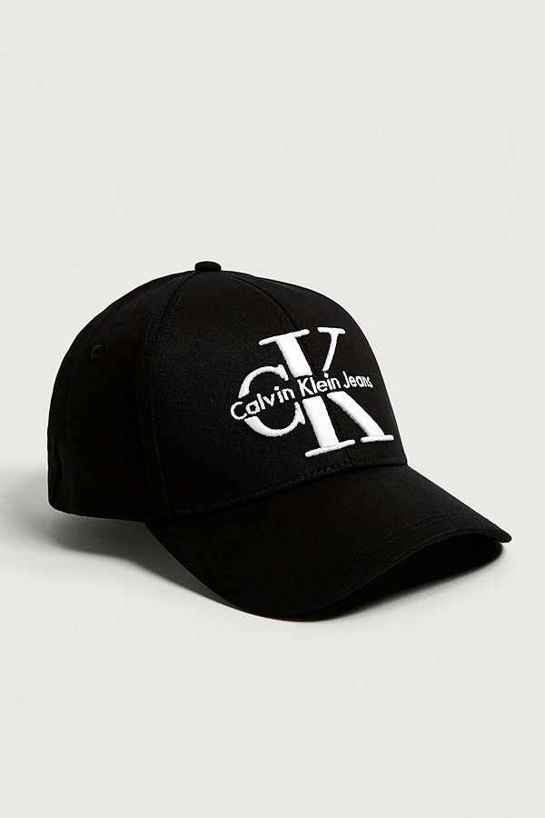 f85a02c7 Calvin Klein Reissue Black Baseball Cap | Urban Outfitters UK