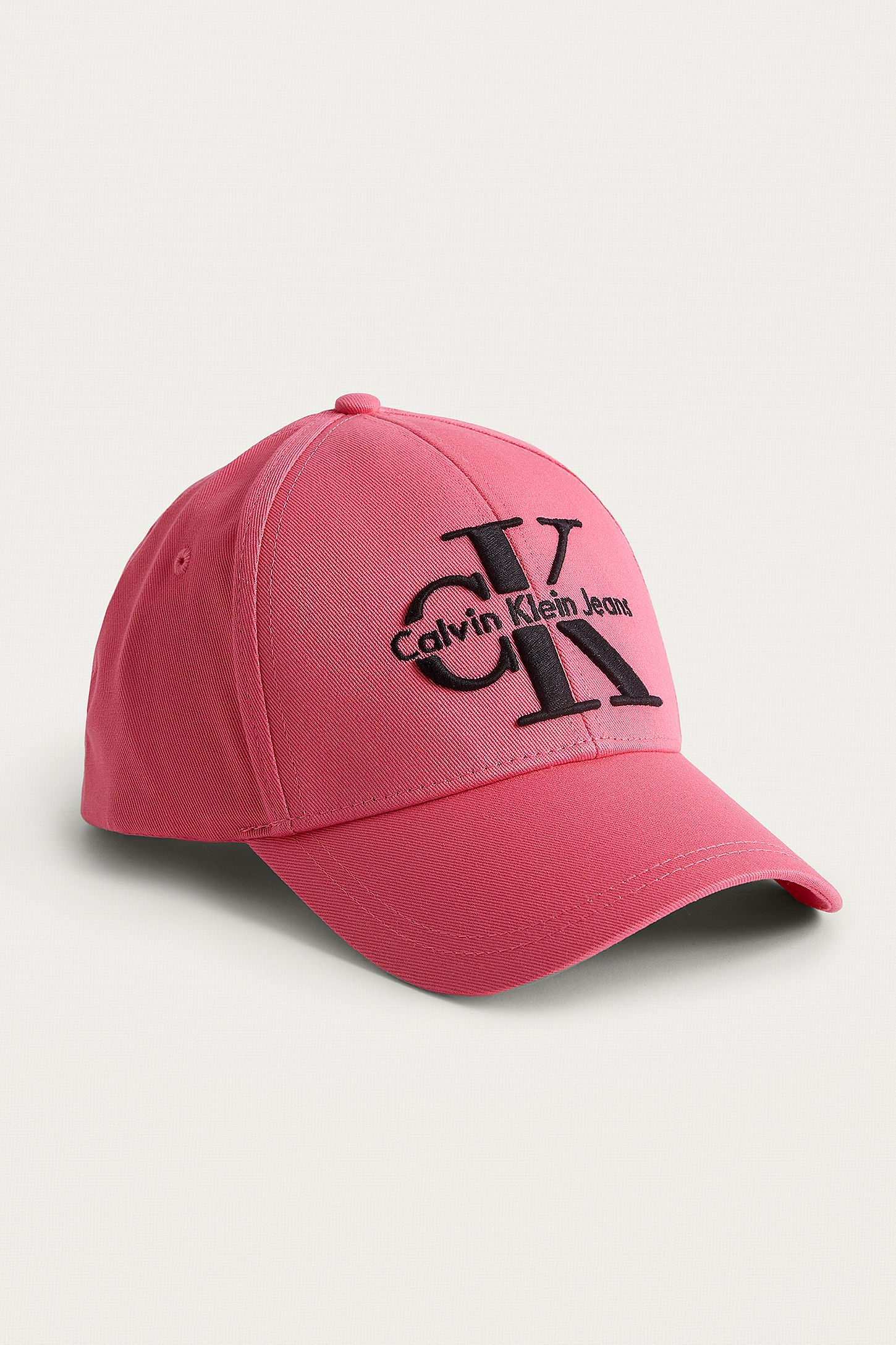 082d78d2bae Calvin Klein Reissue Pink Baseball Cap. Click on image to zoom. Hover to  zoom. Double Tap to Zoom