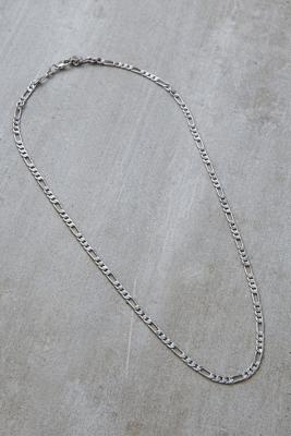 Silver Plated Figaro Chain Necklace by Urban Outfitters