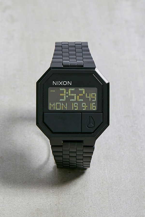 "Nixon – Komplett Schwarze Armbanduhr ""Re Run"" by Nixon Shoppen"