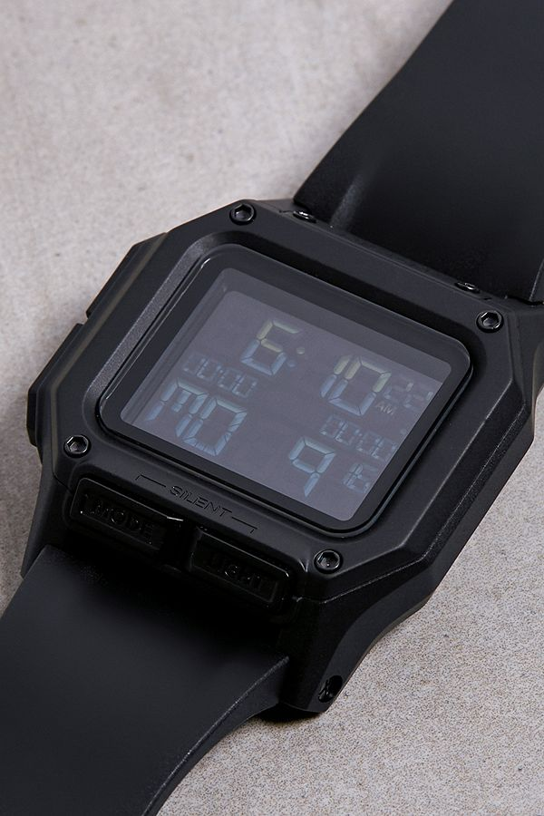 "Nixon – Komplett Schwarze Armbanduhr ""Regulus"" by Nixon Shoppen"