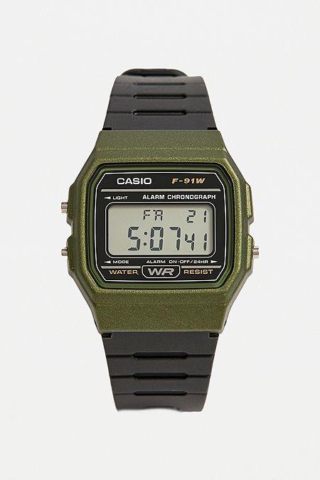 5da780548739 Casio Classic F91W-1 Khaki Watch