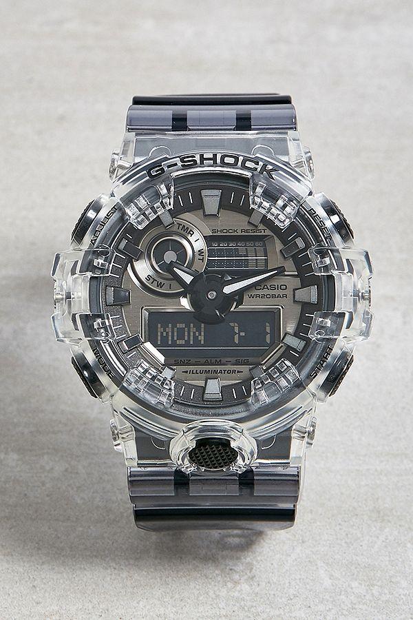 Casio G Shock Clear Skeleton Watch