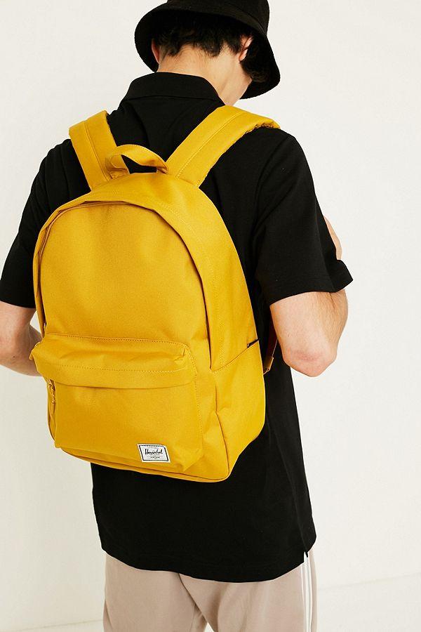 2b6c55330e8 Herschel Supply Co. Settlement Yellow Backpack