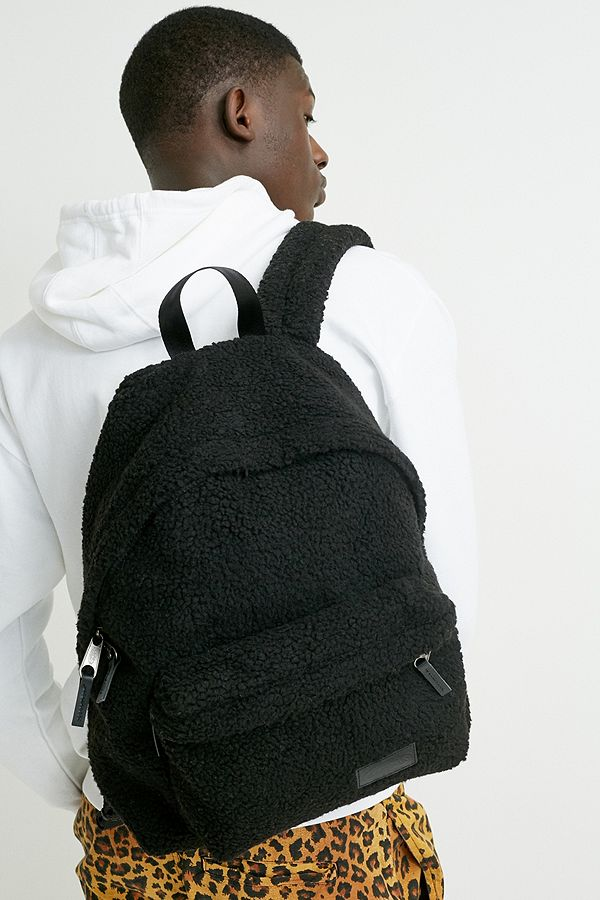 vente en ligne grandes variétés doux et léger Eastpak Padded Pak'R Black Teddy Backpack