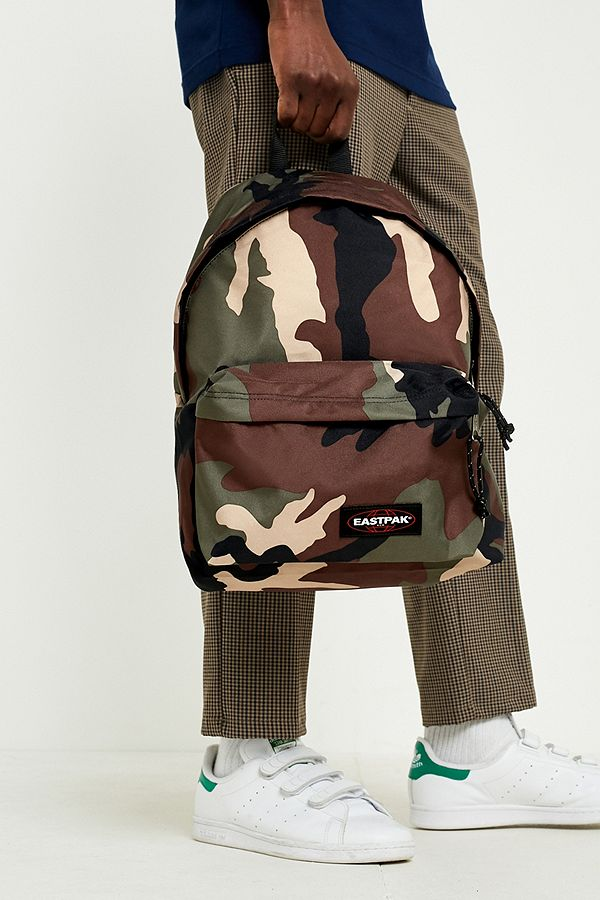 99bb4b68fdf Eastpak Camo Padded Pak'R Backpack | Urban Outfitters UK