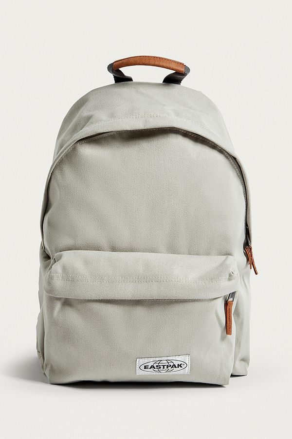 a4f99a916ca Eastpak Padded Pak'R Opgrade Silver Backpack | Urban Outfitters UK