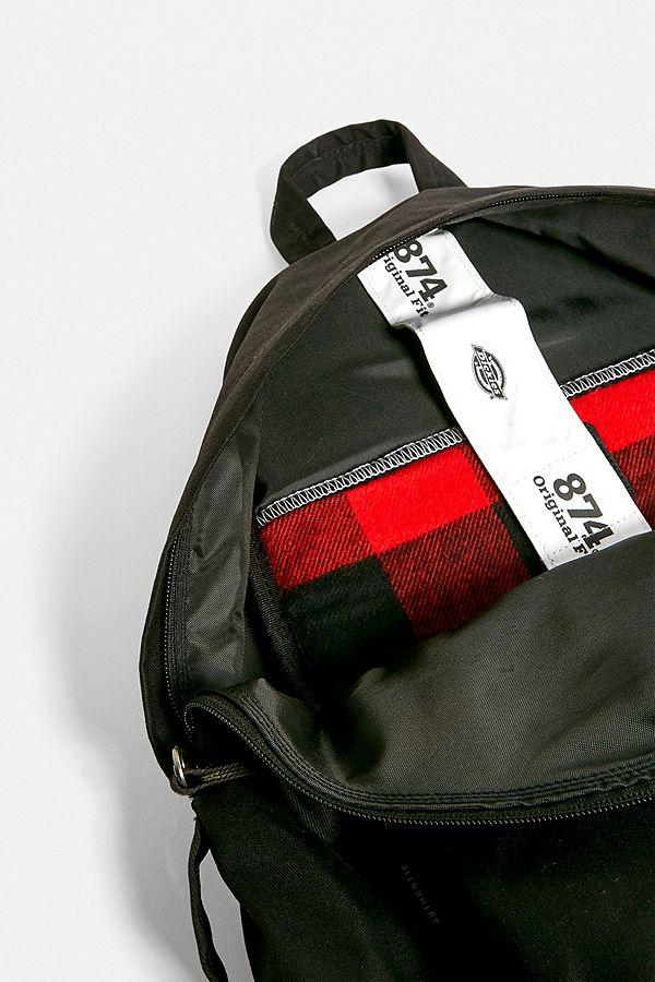 professionnel de la vente à chaud luxuriant dans la conception assez bon marché Dickies X Eastpak Pak'r Padded Black Backpack