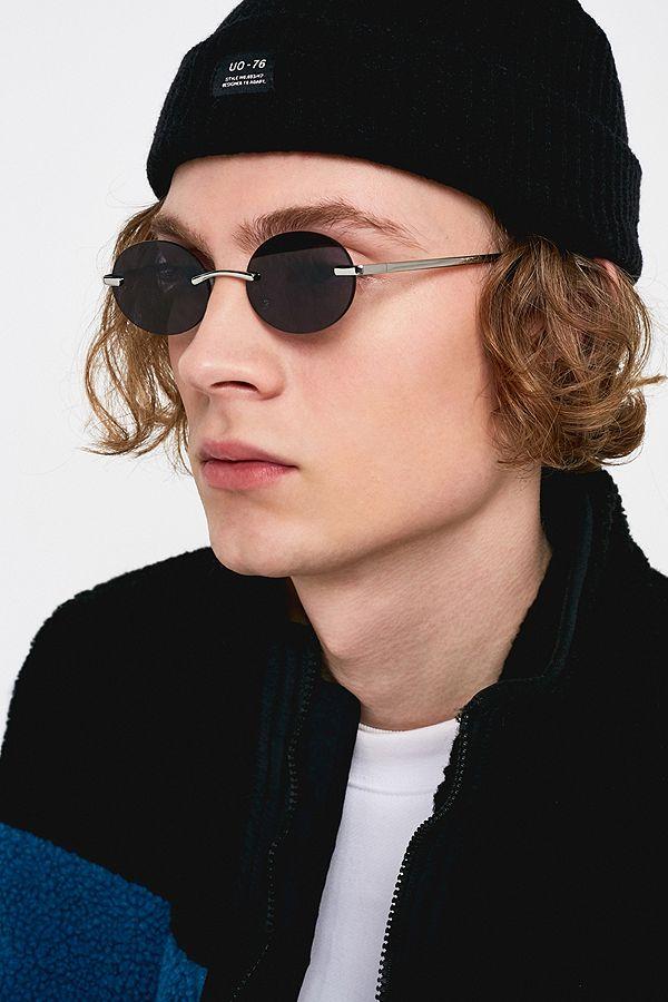 men's oval sunglasses