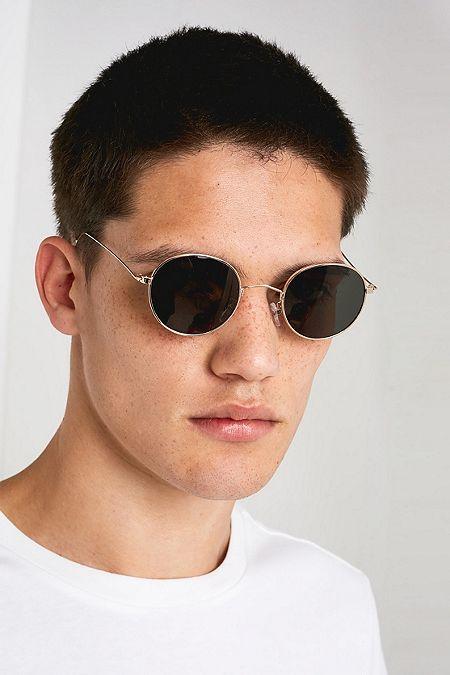 7fb822d8b85a2 UO Smith Gold Sunglasses