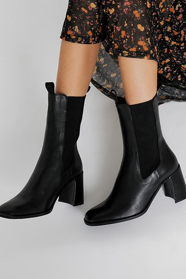the best great prices first rate E8 By Miista Mille Black Leather Boots